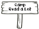 Reading Camping Rustic Wood Posters