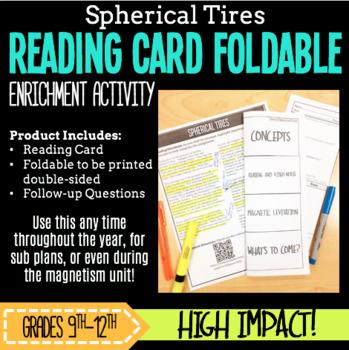 Scientific Reading Foldable-Spherical Tires SUB PLANS