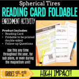 Scientific Reading Foldable-Spherical Tires SUB PLANS