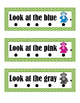 Reading Cards - Sight and Color Words