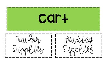 Reading Cart Labels