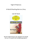 Catch-Up Reading Workshop: Full Unit For The Wrestling Novel 'Night Of Warriors'