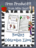 Reading Celebration Activities and Ideas for Teachers