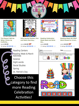 Reading Celebration Friday Freebie Measuring With Non-Standard Units