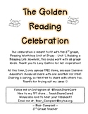 Reading Celebration - Read books like they are gold!