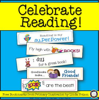 Reading Celebration Superhero Bookmarks