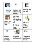Reading Center Activities