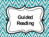 Reading Center Binder Dividers