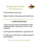 Reading Center Book Checkout