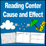 Cause and Effect Center Activity (Sorting Cards)