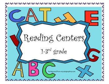 Reading Center Directions Gr 1-3