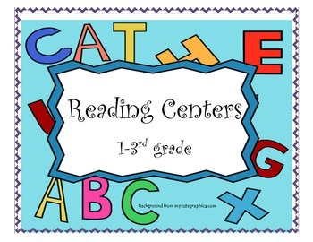 Reading Center Directions Gr 1-3