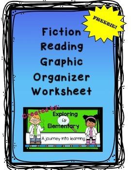 Reading Center Fiction Graphic Organizer