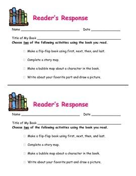 Reading Center Ideas