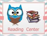 Reading Center Label