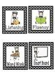 Reading Center Labels - Cheveron