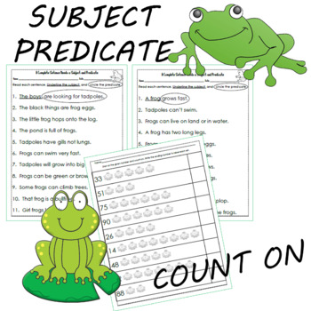 Frog Themed Reading and Math Unit