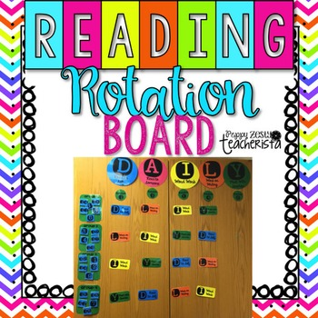 Reading Center Rotation Board