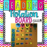 Reading Center Rotation Board