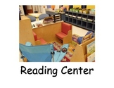 Social Narrative: Reading Center