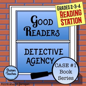 Reading Station - Good Readers Detective Agency Case #1 Book Series