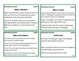 Reading Center Task Cards