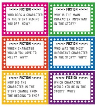 Reading Task Cards - Fiction and Nonfiction