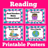 Reading Posters   Kindergarten 1st 2nd 3rd Grade