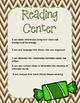 October Reading Centers (3rd Grade)