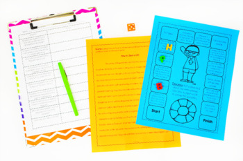 Reading Games | Upper Elementary Reading Centers