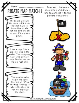 Fluency and Comprehension Pirate Reading Centers