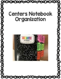 Reading Centers 3 Tab Dividers