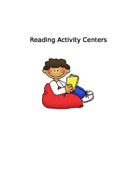 Reading Centers- 8 Activities