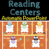Reading Centers Automatic Station Rotation PowerPoint