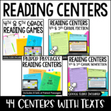 Reading Centers | Bundle: 40+ Reading Games