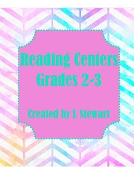 Reading Centers Grade 2-3 (No Prep)