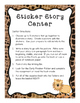 Reading Centers Made Easy!  Safari Themed!  Grades 1 - 4
