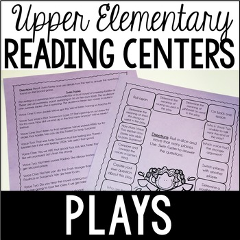 Reading Centers {Plays or Drama)