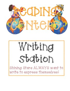 Reading Centers Posters