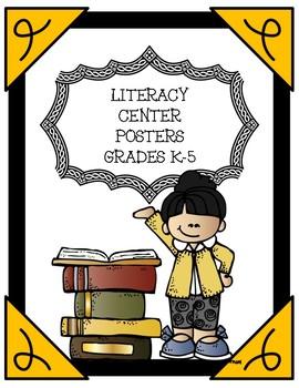Reading Center Labels -- Grades K-5