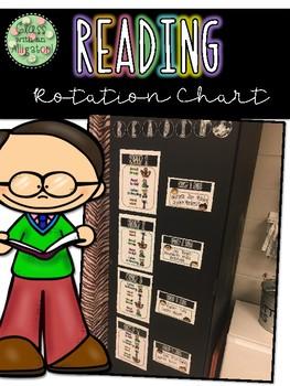 Reading Centers Rotation Chart