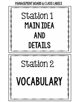 Reading Centers Starter Pack