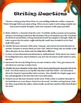 Reading Centers: Writing, Discussion, Comprehension, &Trivia; 3rdG Common Core