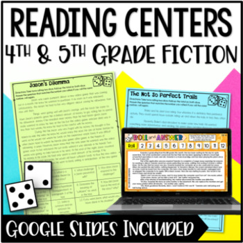 Reading Centers for 4th and 5th Grade {Fiction}
