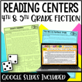 Reading Centers (4th & 5th Grade) - Fiction with Digital R