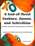 Reading Centers:Writing, Discussion, Comprehension, & Triv