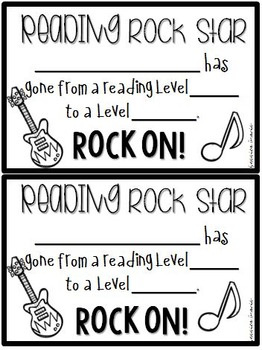 Reading Certificates {Celebrating Reading Levels}