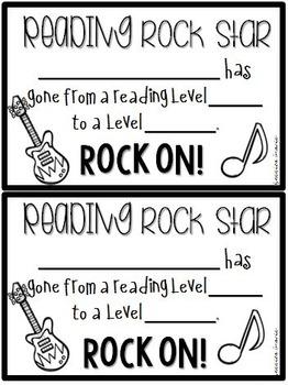 Reading Certificates {Celebrating Reading Levels}