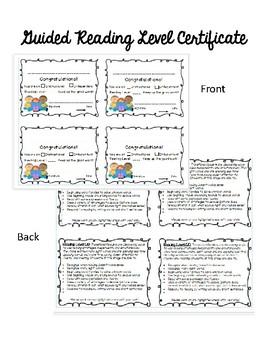 Reading Certificates (editable)