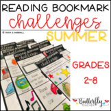 Reading Challenge Bookmarks   SUMMER Reading Challenges